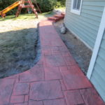 Brookfield WI Stamped Concrete Patio