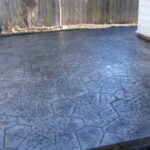 2013 Wauwatosa WI Stamped Concrete Patio